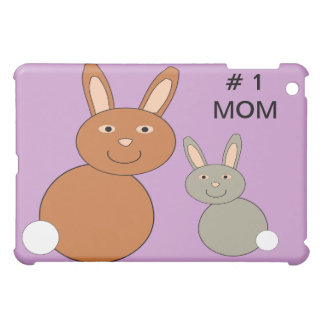 Mothers Day Bunnies Custom Number 1 Mom  iPad Mini Cases