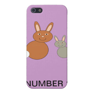 Mothers Day Bunnies Custom Number 1 Mom iPhone 4 C iPhone 5 Cover