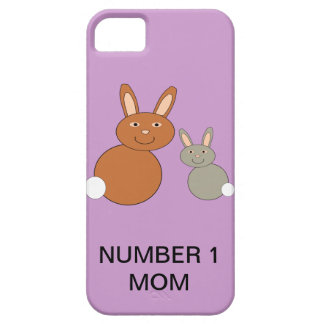 Mothers Day Bunnies Custom Number 1 Mom iPhone Case For The iPhone 5