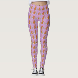 Mothers Day Bunnies Leggings