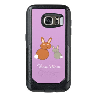 Mothers Day Bunnies Personalized Phone Case