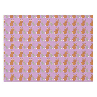 Mothers Day Bunnies Tablecloth