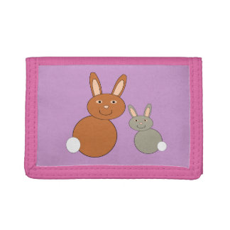 Mothers Day Bunnies Wallet