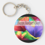 Mother's Day Butterflies Art - Multi Key Chains