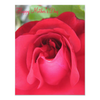 Mother's day card 11 cm x 14 cm invitation card