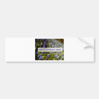 Mothers Day Card Bumper Sticker