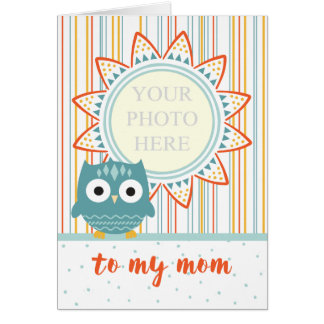 Mother's Day Card from Child - Add Own Photo
