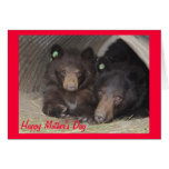 Mother's Day card - mum & cub