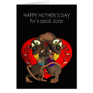 Mother's Day Card, Sister Card