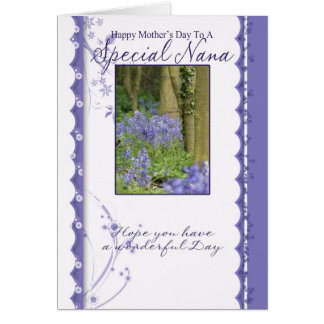 Mother's Day Card, Special Nana Greeting Card