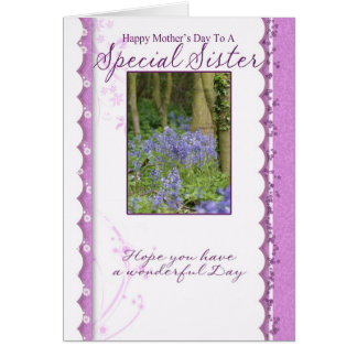 Mother's Day Card, Special Sister Greeting Card