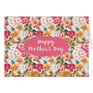 Mother's Day Card - Very Floral