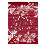 Mother's Day Card - Welsh Sul Y Mamau