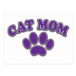 Mother's Day Cat Mum Postcard