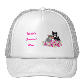 Mother's Day Cats Cap