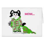 Mother's Day Cat's Pyjamas Card