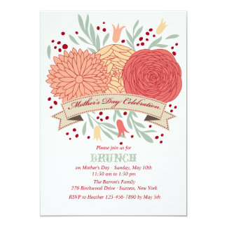 Mother's Day Celebration Invitation