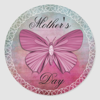 Mother's Day Classic Round Sticker