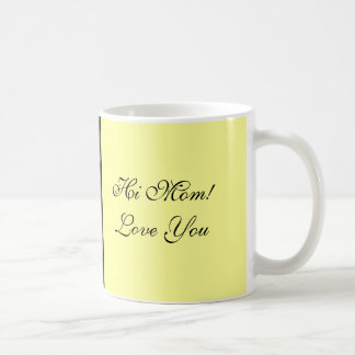 Mother's Day coffee mug Pink Rose Bud Love You