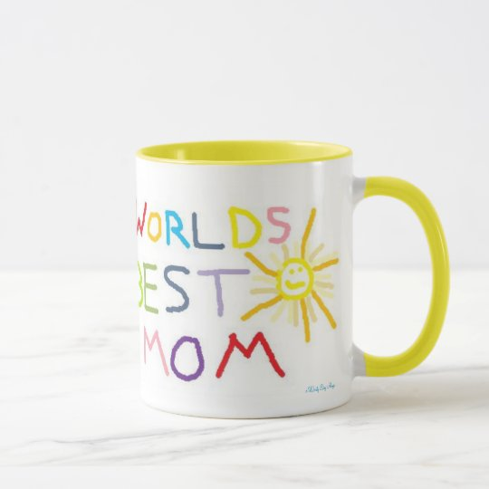 MOTHER'S DAY COFFEE MUGS - WORLDS BEST MOM - GIFTS