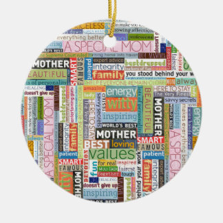 Mother's Day Collage Christmas Ornament