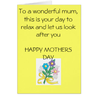 mothers-day-crafts-1, To a wonderful mum, this ... Card