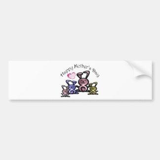 Mother's Day Cute Bunnies Bumper Sticker