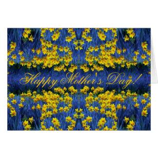 Mother's Day Daffodil Spring Fantasy Card