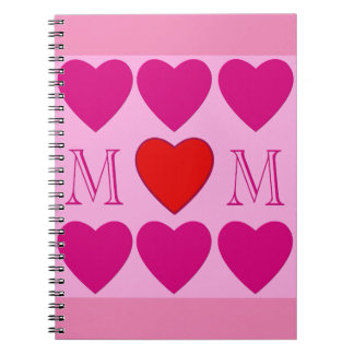 Mothers Day decoration Spiral Note Books