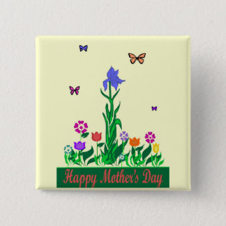 Mothers Day design button