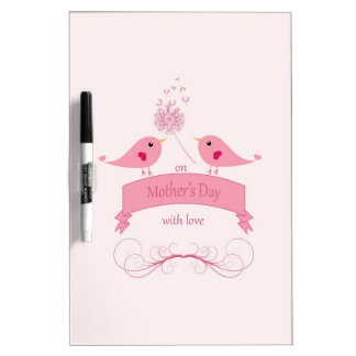 Mothers Day Design Dry-Erase Boards