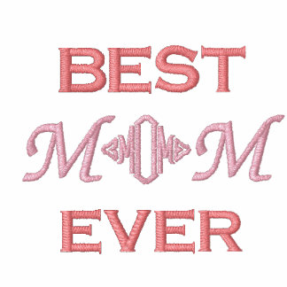 Mother's Day  Embroidered