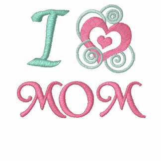 Mother's Day  Embroidered Mom