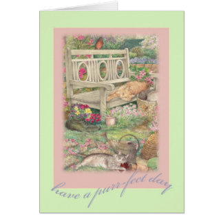Mother's Day exquisite illustration greetings Greeting Card