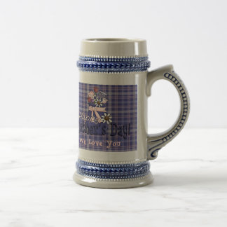 Mother's Day Floral Beer Steins