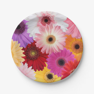 Mother's Day Floral Paper Plate