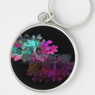 Mothers Day - Floral Reflection Key Chain