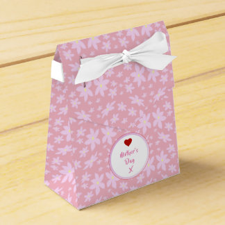 Mother's day Flowers Favour Box