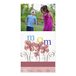 Mother's Day Flowers Photo Card