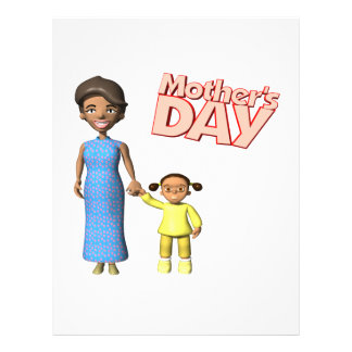 Mothers Day 21.5 Cm X 28 Cm Flyer