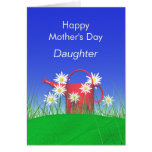 Mothers Day for Daughter Daisies and Watering Can