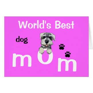 Mothers Day from Dog Greeting Card