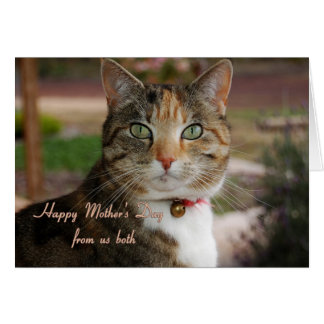Mother's Day, From Us Both Greeting Card