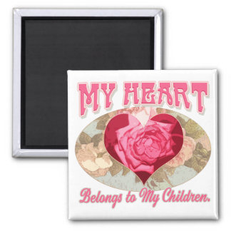 Mother's Day gift ideas for World's Greatest Mom Square Magnet