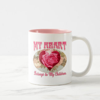 Mother's Day gift ideas for World's Greatest Mom Two-Tone Mug
