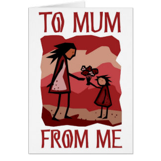 Mother's Day gift: Love and flowers for Mummy Cards