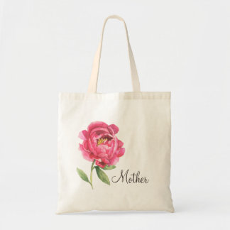 Mother's Day Gift Peony Tote