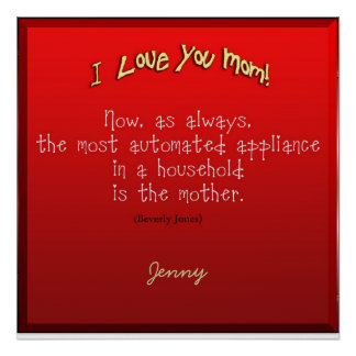 Mother's Day Greetings 1 Poster