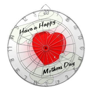 Mothers Day Heart Dartboard