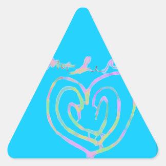 Mother's day heart design sticker